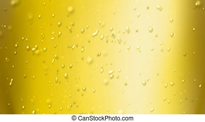 passion fruit juice - the bubbles floating up in the liquid...