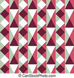 seamless pattern with squares and triangles