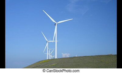 windmills for generating power