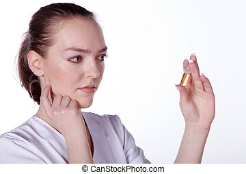 ampoule doctor examines