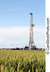 land oil drilling rig petroleum industry