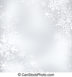 Christmas background - Decorative blue christmas background...