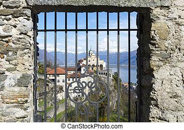 Church on the mountain - Church madonna del sasso in locarno...
