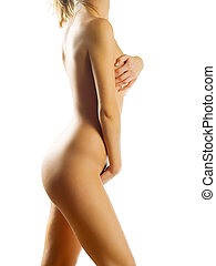 so nice - a beautiful young woman showing her naked body
