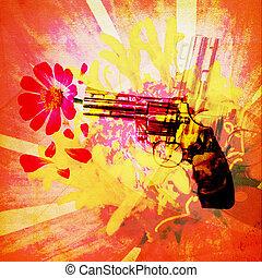 Stop Crime Concept,Artistic Look
