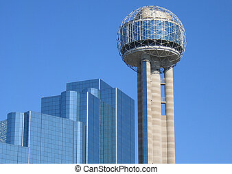 Tx - building in dallas Texas united states of america