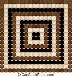 chocolat brown pattern