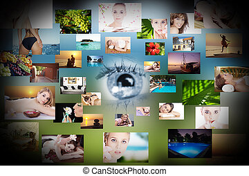 SPA dream collage