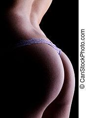 erotic female body