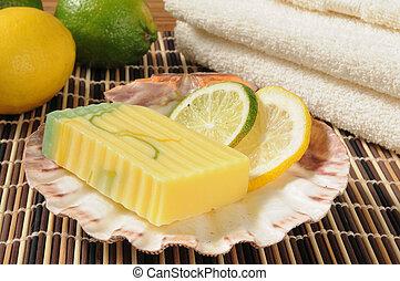 inspirado,  citris, sabonetes, glicerina