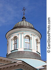 Dome of Armenian orthodox church in St. Petersburg