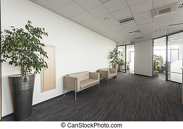 Modern office interior - Interior of a modern office,...