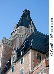 Angles and Architectural Design - The many peaks on the...