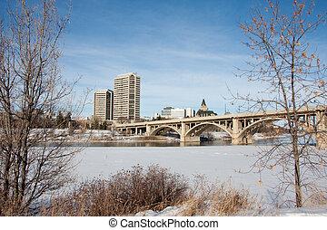 Winter in Saskatoon