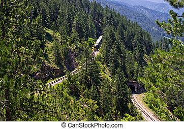 Railway of Sharganska Osmica in Serbia - Railway of...