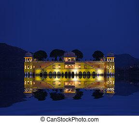 Water Palace - Jal Mahal Rajasthan, Jaipur, India - The...