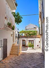 Alleyway Noci Puglia Italy