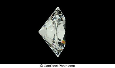 Oval Cut Diamond - Oval cut diamond with alpha channel...