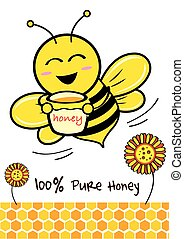 Bee - Pure Honey and Bee