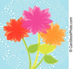 garden design over blue background vector illustration