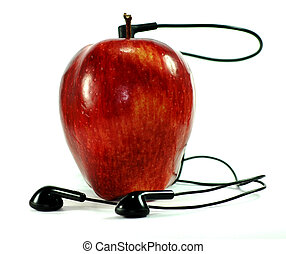 Apple Ipod - Conceptual image of an Apple Ipod