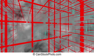 Animated abstract background