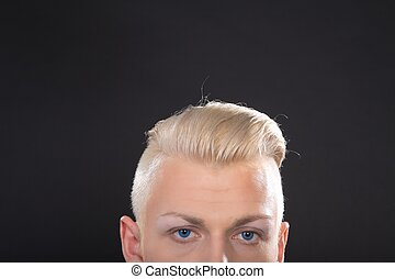 young man hairstyle