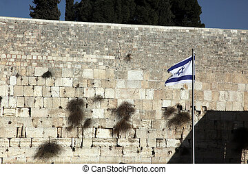 Gemir, pared, Occidental, pared, kotel, jerusalén