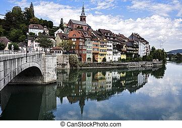 Germany, Laufenburg - Germany, city of Laufenburg, Duna...