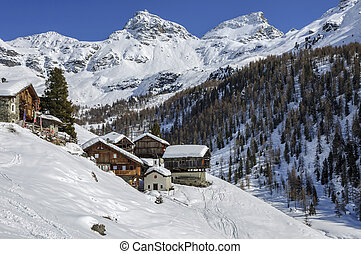 Cuneaz (Valle d'Aosta, Italy) - Cuneaz (Aosta, Valle...