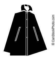 woman windbreaker vector
