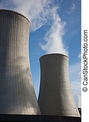 Cooling towers - Steaming power plant cooling towers
