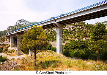 bridges in the mountains.   Catalonia