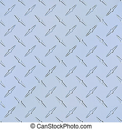 Diamond plate - Fully tileable aluminum diamondplate