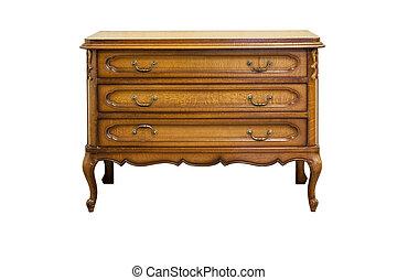 Antique dresser - XIX century antique dresser made from oak...