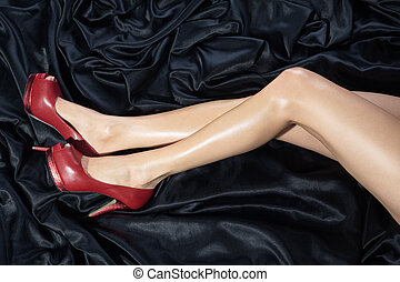 sexy legs with a great shoe