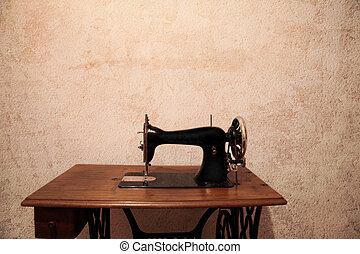 sewing machine - old and vintage sewing machine