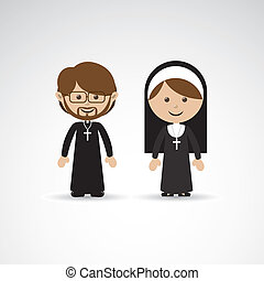 reigious - religious design over gray background vector...