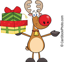 Happy Reindeer