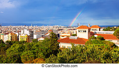 Barcelona from National Palace of Montjuic