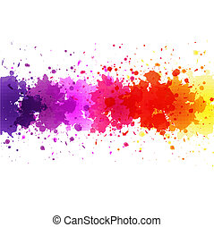 Watercolor Blot Background - Watercolor Blot Abstract...
