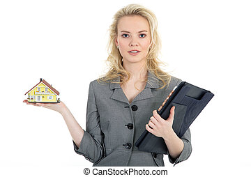 woman sells new house