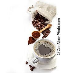 vida, todavía, café