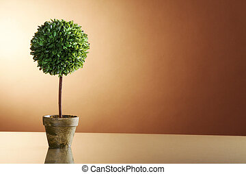 miniatura, árvore