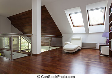Stylish loft - Modern stylish attic, mezzanine with place...