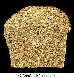 slice of nine grain bread