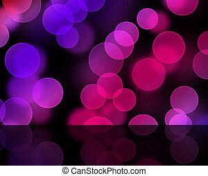 purple lights Bukke