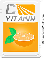 C vitamin - Creative design of C vitamin