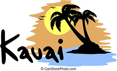 Kauai beach - Creative design of Kauai beach