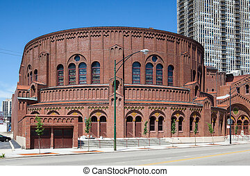 The D.L.Moody memorial church in Chicago